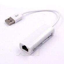 Портативный 1 шт. RTL8152 Chips USB 2,0 для RJ45 сетевая карта беспроводной локальной сети адаптер 10/100 Мбит/с для планшетных ПК Win 7 8 10 XP