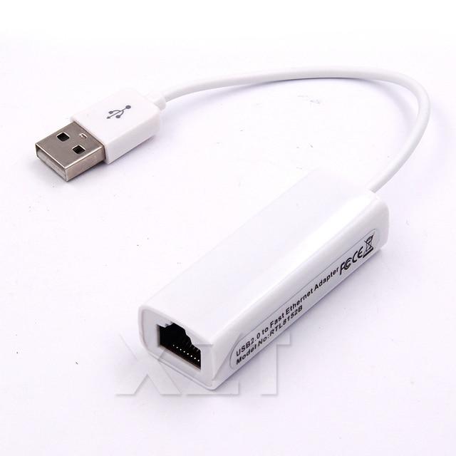 Taşınabilir 1 pcs RTL8152 Cips USB 2.0 için RJ45 Ağ Kartı lan kartı 10/100 Mbps Için Tablet PC Win 7 8 10 XP