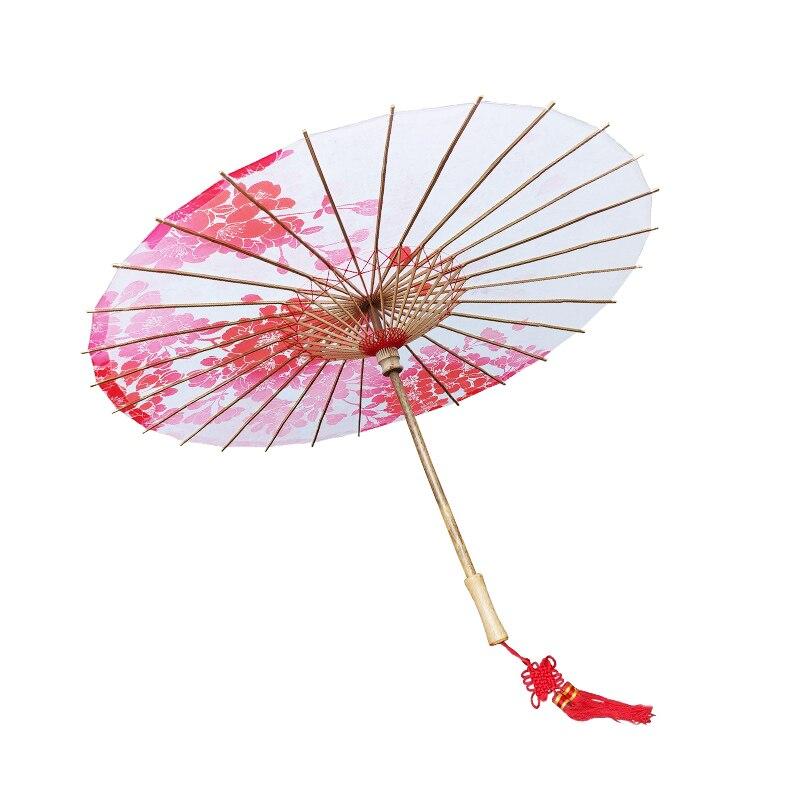 Japanese Performance Show Umbrella Oriental Classical Cherry Blossom Sushi Restaurant Prop Japan Geisha TV Movie Stage Umbrella
