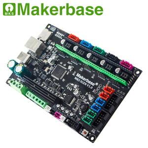 Image 4 - Makerbase MKS SGen 32bit لوحة تحكم لوحة طابعة ثلاثية الأبعاد الأجهزة marlin2.0 و سموثيواري الثابتة مع TMC2208 TMC2209