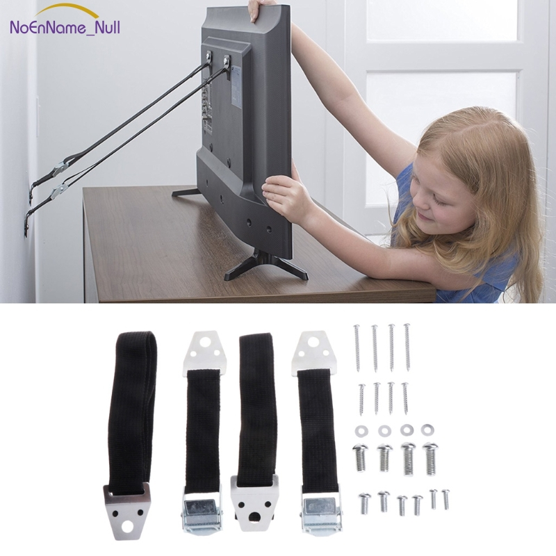 New Baby Safety Anti-Tip Straps For Flat TV Furniture Wall Strap Lock Protection #330