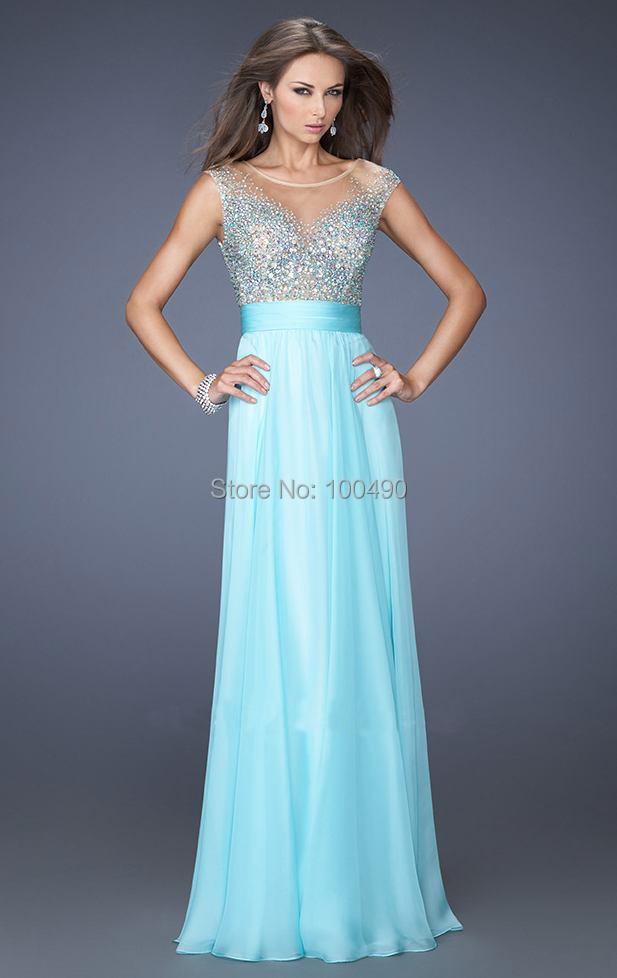 Blue Chiffon Bridesmaid Dresses - Ocodea.com