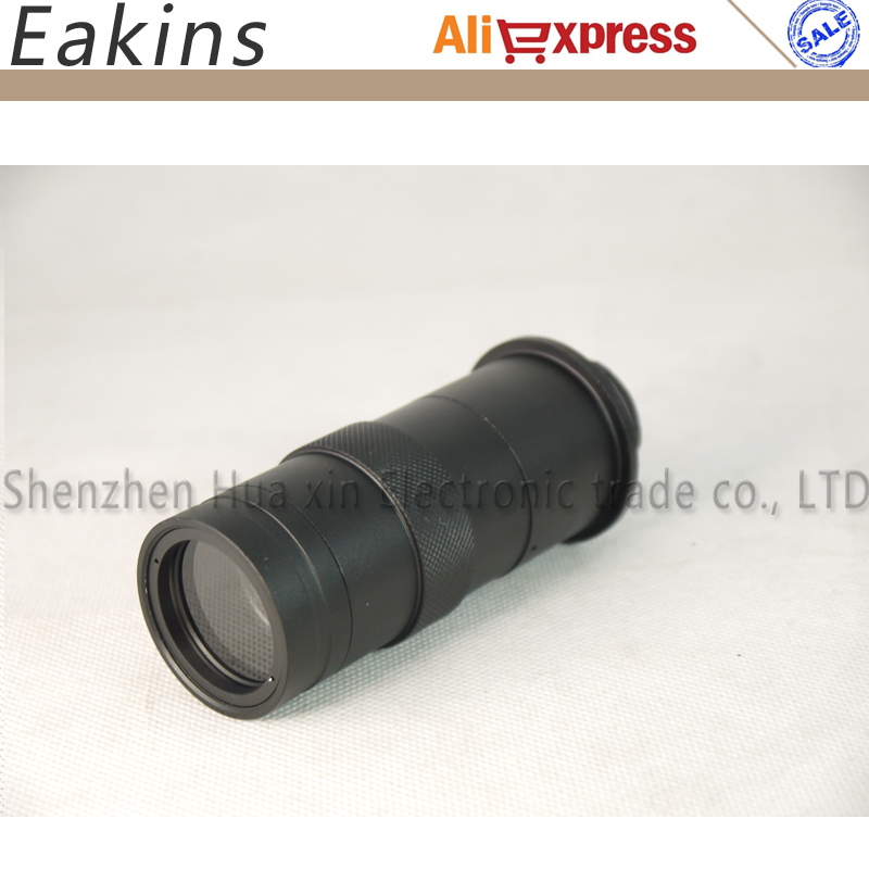 13MP 60FPS Cámara de microscopio industrial HDMI VGA + lente 130X + - Instrumentos de medición - foto 3