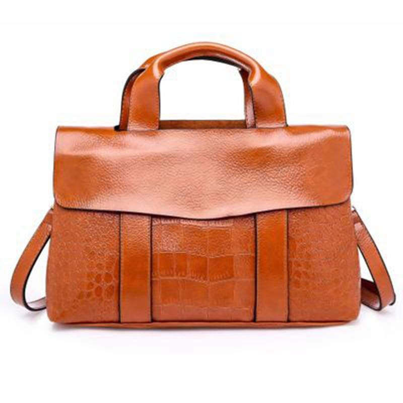 Women Black Handbag Travel Bag Waterproof Leather Large Capacity Travel Multifunction Tote Casual Crossbody Bags