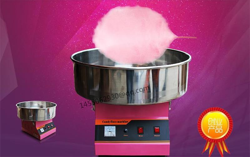 Commercial Flower Electric Cotton Candy  Machine Price With CE Certification