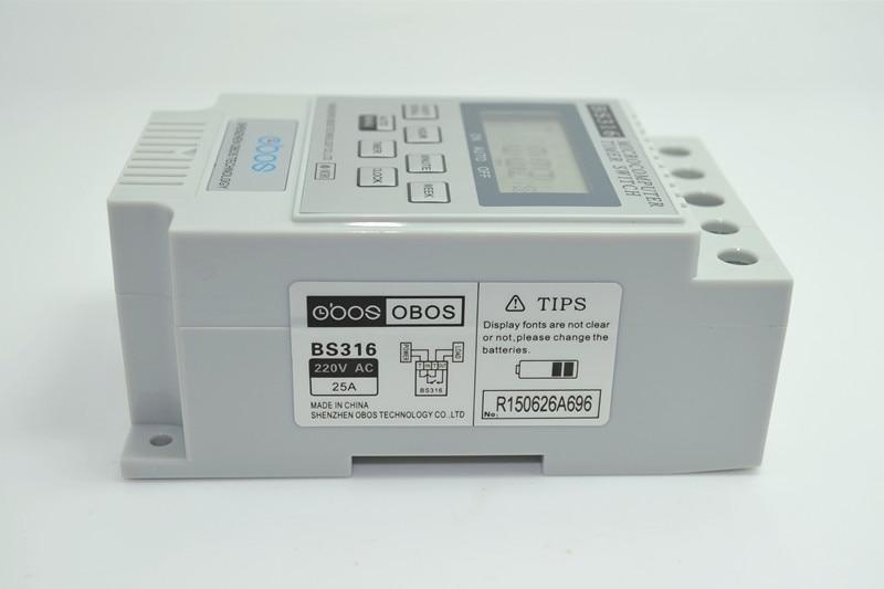 Nowy cyfrowy wyłącznik czasowy KG316T AC 220V 12V 24V 110V 25A na - Przyrządy pomiarowe - Zdjęcie 4