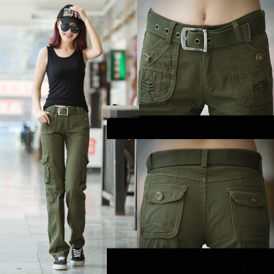 Online Shop FREE SHIPPING outdoor casual military multi-pocket ...