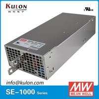 Оригинал Mean Well SE 1000 AC к DC Питание 1000 Вт 5 В/150A 12 В/83.3A 24 В /41.7A 48 В/20.8A Трансформаторы освещения LED Driver
