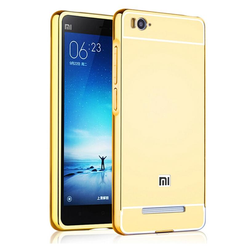 online store 634c3 03108 Xinchentech For Xiaomi Redmi 4A Case Luxury Mirror Metal Aluminum+Acrylic  Hard Back Cover For Redmi4A Fundas Accessory Capa-in Fitted Cases from ...