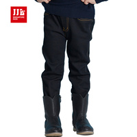 Black Girls Jeans Kids Pants Winter Baby Bottoms Size 1 7t Children Clothing Baby Clothes Brand