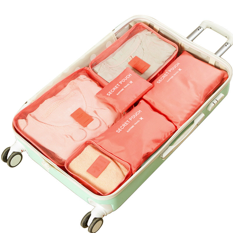 Storage Bag Portable Storage Bag Travel Luggage Storage Bag Packaging Cosmetic Bag Cubic Clothes Storage Bag