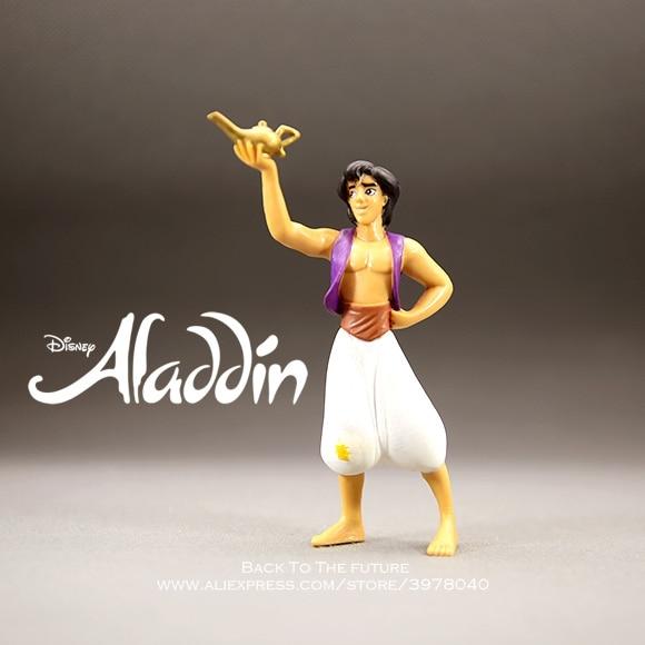 Disney Aladdin Prince 12cm Action Figure Anime Mini Decoration PVC Collection Figurine Toys Model For Children Gift