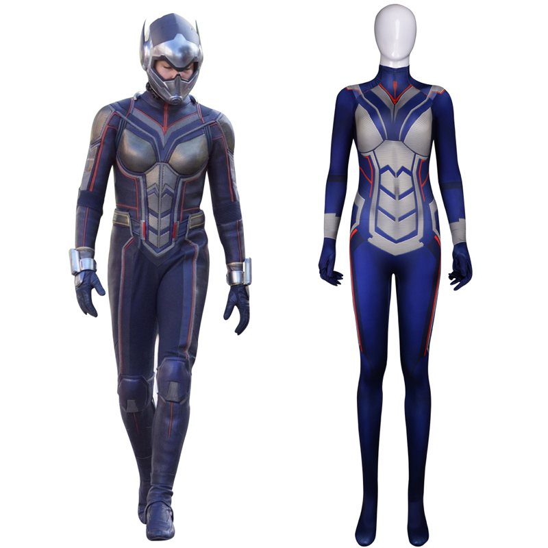 Ant-Man And The Wasp Cosplay Costume Halloween Carnival Wasp Costume For Women Jumpsuit Custom Made Fancy Ball Bodysuit