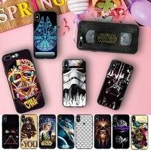 f5c3d624c95 Star Wars Darth Vader Storm Trooper Soft TPU Phone Case for iPhone X 5S XR  XS
