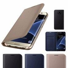 Кожаный чехол-книжка с откидной крышкой для Samsung Galaxy A30 A50 M10 M20 A7 A6 A8 плюс A9 J4 J6 J8 S10E S10 Lite S9 S8 плюс S7 S6 край