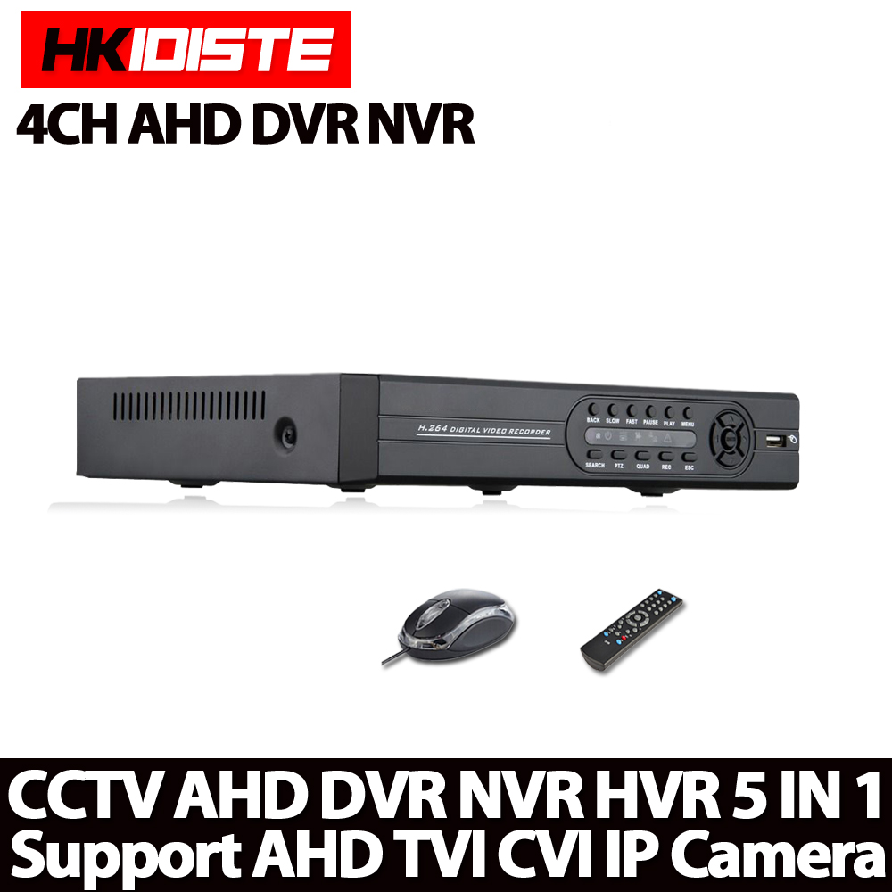 Home Security CCTV AHD DVR 4Ch 1080N Video Recorder 4CH 1080P  5MP NVR Onvif P2P Cloud Work For CCTV Surveillanc AHD Camera security 4ch ahd m dvr 8ch realtime 1080p nvr video recorder multi mode