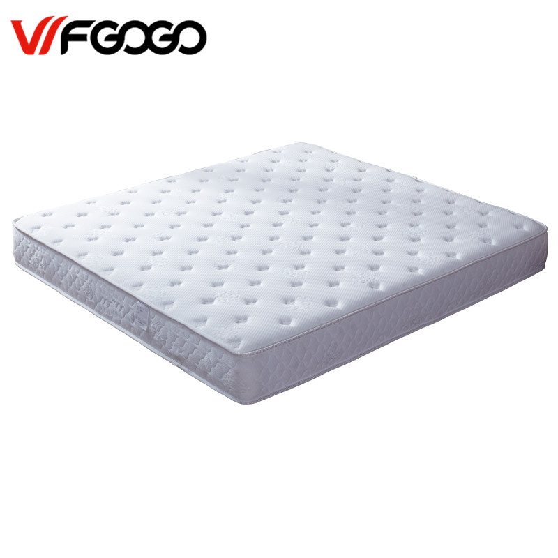 Wfgogo Thickness 23 Cm Spring Mattress Twin High Density Vacuum Compression Foam Latex Soft Bed