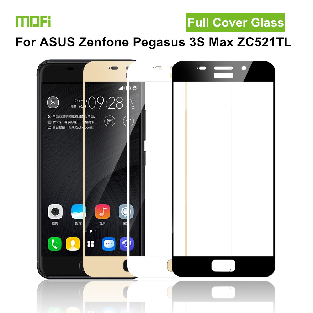 For ASUS Zenfone Pegasus 3S Max ZC521TL Glass Tempered 5.2 Protective Film Screen Protector for ASUS ZC521TL Tempered Glass