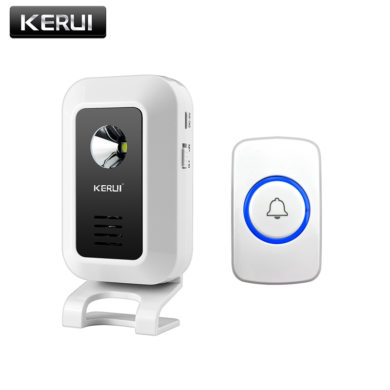 KERUI-Wireless-Shop-Store-Welcome-Door-Entry-Chime-Smart-Doorbell-With-Button-buttCurtains-Infrared-Motion-Detector