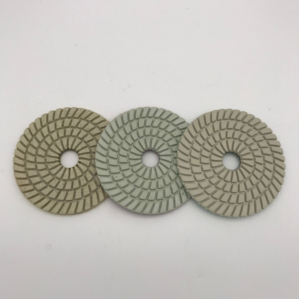 """6 Pieces 3/"""" Back Holder//Backer Pads for Diamond Polishing Pads 5//8/""""-11 Thread"""