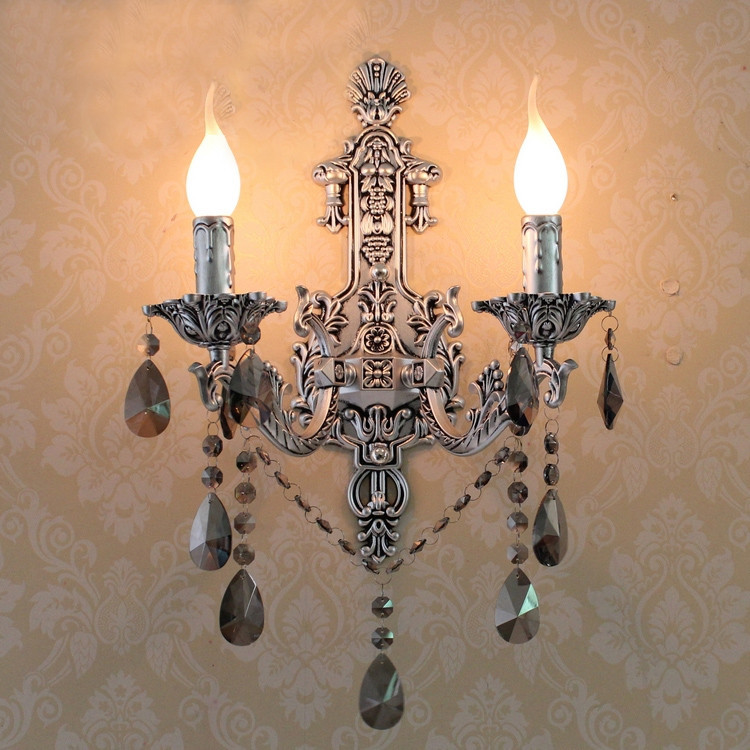 silver alloy wall light mirror lamp bed reading crystal lamps wall lamps for home vintage wall sconces led indoor wall lighting vintage wall lamp indoor lighting bedside lamps wall lights for home