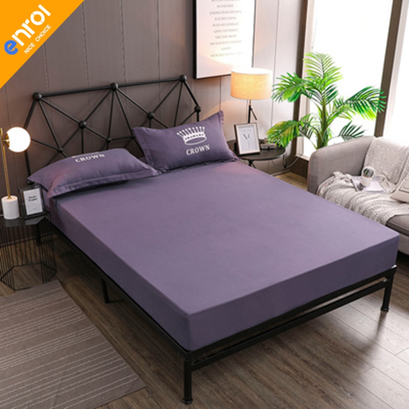 New Coming Solid Fitted Sheet On Elastic Band Mattress Cover with Elastic Rubber Band Printed Bed Sheet Hot Selling Bed LinensNew Coming Solid Fitted Sheet On Elastic Band Mattress Cover with Elastic Rubber Band Printed Bed Sheet Hot Selling Bed Linens