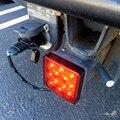 12V автомобиль грузовик прицепа супер яркий 12-светодиодный задний фонарь стоп-сигнал туман светильник с изображением Красной площади лодка ...