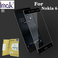 Imak Amazing Anti Explosion 2 5D Screen Protector For Nokia 6 Full Cover Tempered Glass For