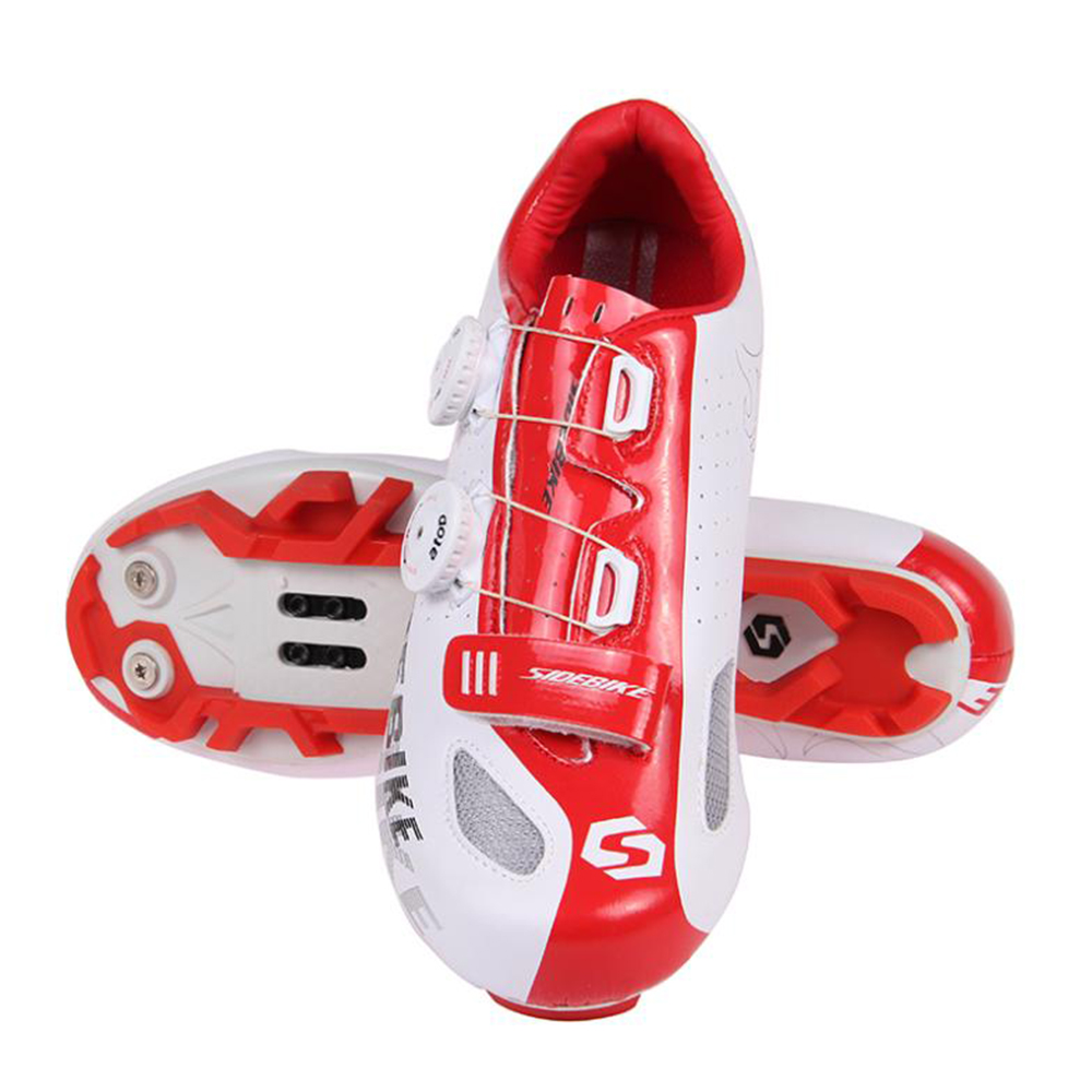SIDEBIKE Cycling Shoes Auto lock Ultralight Cycling Sneaker MTB Shoes Mountain Bike Shoes Athletic Riding Zapatillas Ciclismo in Cycling Shoes from Sports Entertainment