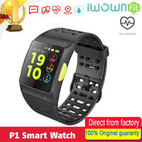 Iwownfit Iwown P1 Dynamic Heart Rate ECG Detection HRV Analysis Built In GPS IPS Color Screen