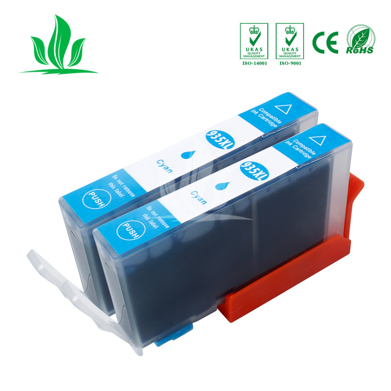 2 pcs 935 934XL ink cartridge compatiblefor For HP934 HP935 Officejet pro 6230 6830 6835 6812 6815 6820 printer 3 in Ink Cartridges from Computer Office