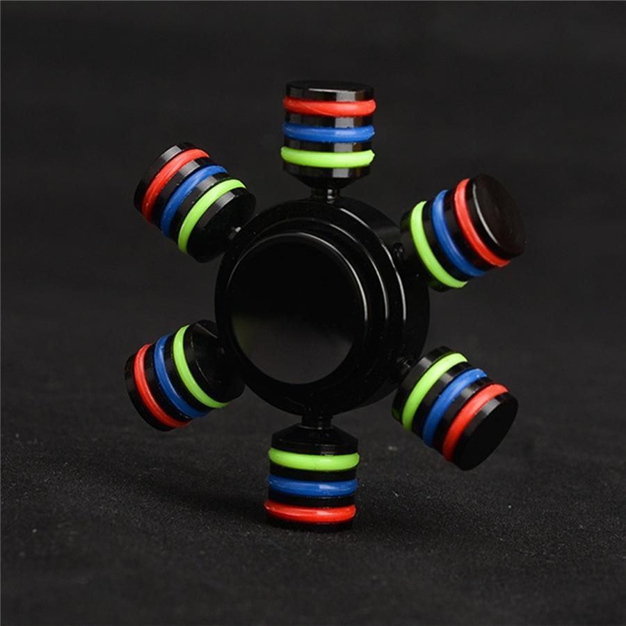 DIY Finger Spinner Fidget Toy EDC Hand Spinner Gyro Fingertip Gyroscope Anti Stress Toys for All