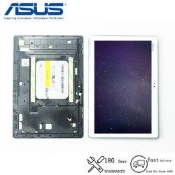 Оригинальный Для Asus ZenPad 10 Z300 Z300C ZP023 ЖК-дисплей сенсорный экран дигитайзер сенсорная панель в сборе с рамкой