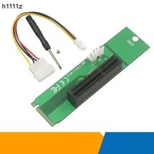 H1111Z Profession Wholesale NGFF M2 to PCI-e 4x Slot Riser Card M key M.2 SSD Port to PCI Express adapter Convertor(China)