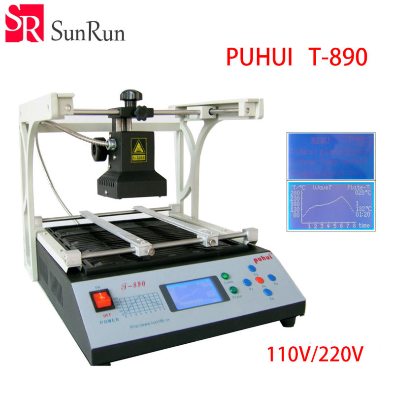 Authorized New Arrival PUHUI BGA Rework Station T-890 IRDA Soldering Welder T890 Infrared SMT SMD IRDA BGA Welder hot selling bga welding machine irda welder puhui t862 bga rework station