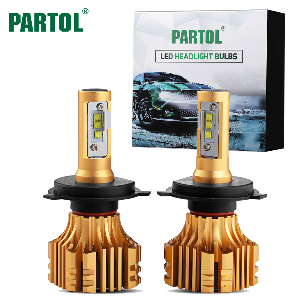 S6 Partol H7 Car LED Headlight Bulbs 70W 7000LM SMD Chips LED H4 H11 H1 9005