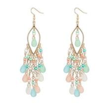 Charm Tassels Earrings