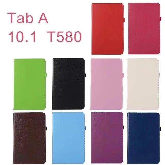 Za Samsung Galaxy Tab A 10.1 T580 T585 SM-T580 Ohišje Business Pu - Dodatki za tablične računalnike - Fotografija 5