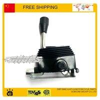 fuxin taotao buyang feishen GY6 150CC hand brake manual parking lever reverse gear lever go kart buggy free shipping