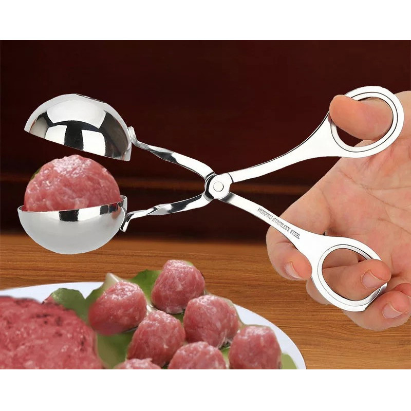 Kitchen Meatball Maker Stainless Steel Meat & Poultry Tools DIY Fish Meat Ball Maker Meatball Mold Tools