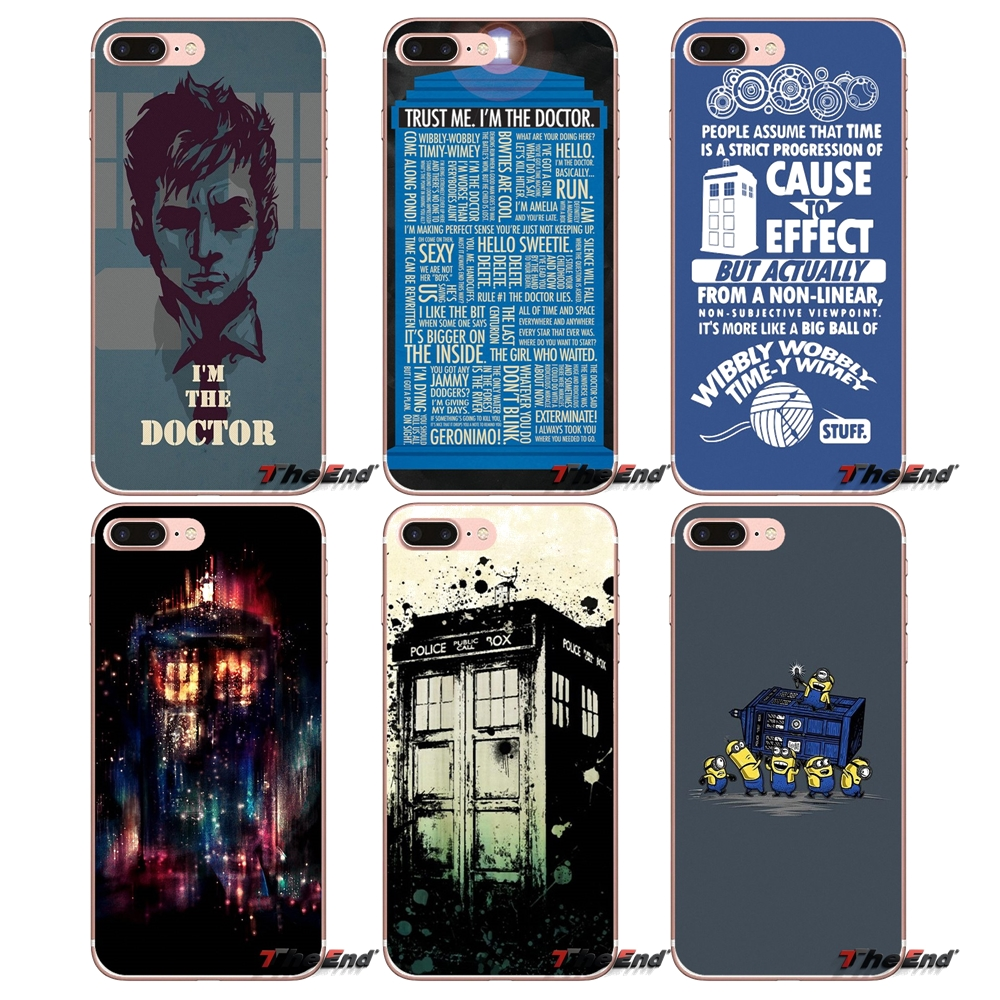 Fashion Style Kmuysl Tardis Box Doctor Who Dw Silicone Case For Huawei Mate 20 10 Pro P20 10 Lite 2i 3i 3e P Smart Cellphones & Telecommunications Smart Phone Bags & Cases