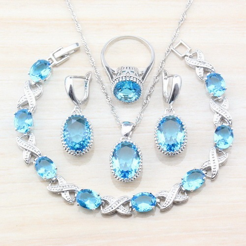 925 Sterling Silver 7Color...