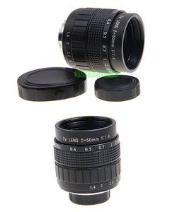 Image 4 - Fujian 50mm F1.4 CCTV lente de TV + C EOS M para Canon cámara sin espejo EOS M M2 M3