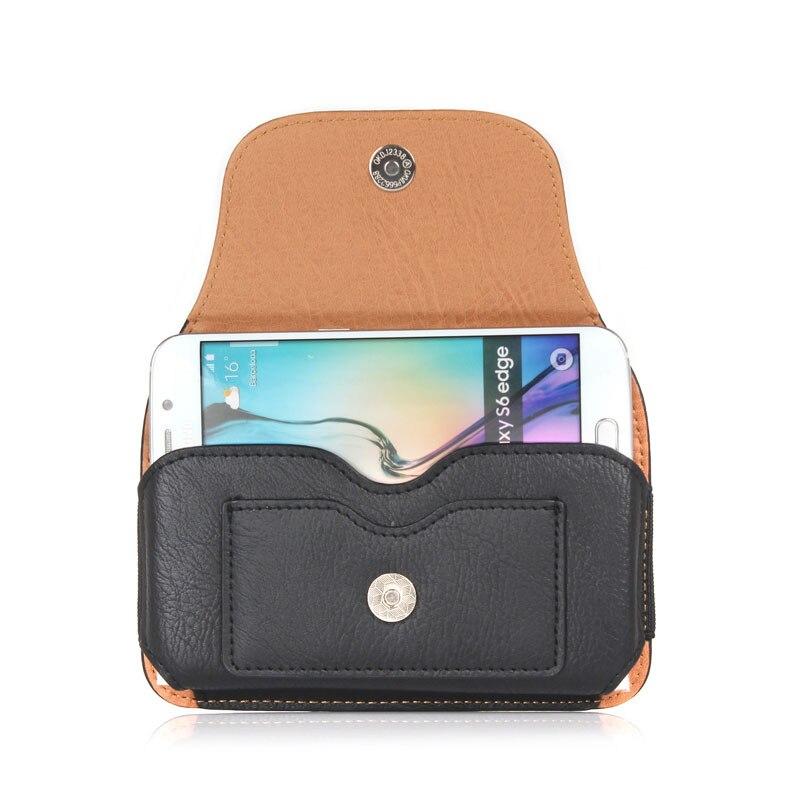 Läderväska Fodral Väska för Samsung Galaxy S10E / S9 / S8 / S7 / - Reservdelar och tillbehör för mobiltelefoner - Foto 2
