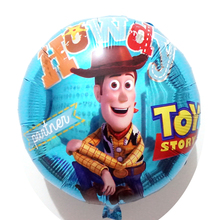 5 unids lote el Toy Story globo material capitán Woody decoración Toy Story  Woody helio b9d5d9c21e5