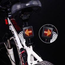 INBIKE USB Rechargeable LED Bike Bicycle Turning Light Remote Control Rear Laser Safety Warning Light Lamp Infrared taillight