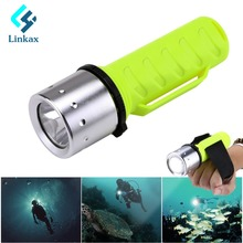 Professional Diving Flashlight Torch CREE XML-T6 Underwater