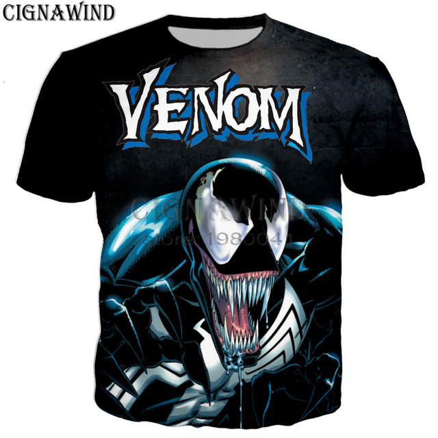 7420fb09 New harajuku style Venom 3d T shirt men Summer tops Hipster Short Sleeve Tee  shirt Men/Women tshirt fashion Hip Hop streetwear