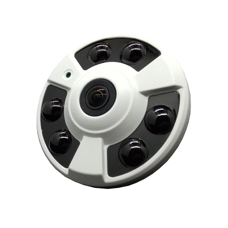 ФОТО 720P 1.0MP HD Fisheye Wide Angle IP Camera P2P Onvif Home Security CCTV Camera Support Phone View Surveillance Free shipping