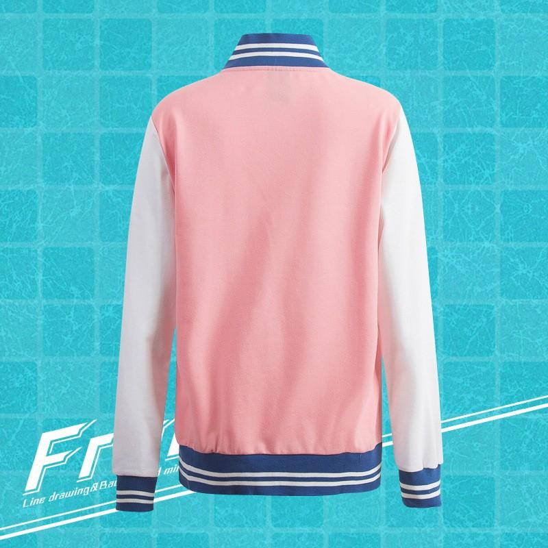 Anime Free! Iwatobi Swim Club Haruka Nanase Nagisa Hazuki Makoto Tachibana Rin Matsuoka Cosplay Jacket (6)